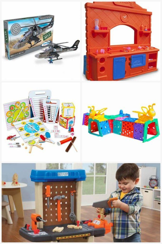 brinquedos para sala de jogos