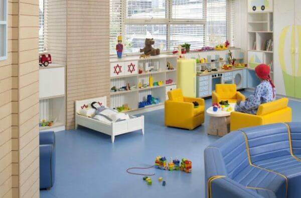 brinquedoteca para crianças em hospital