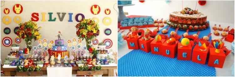 mesa de bolo decorada