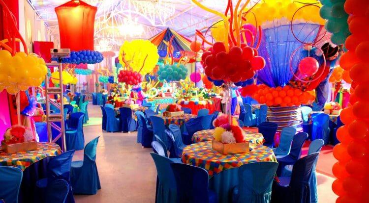 salão de festa infantil decorado