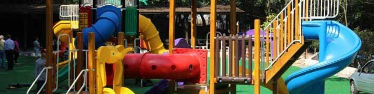 Playground de plástico: vantagens e segurança