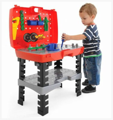 bancada de ferramentas infantil xalingo