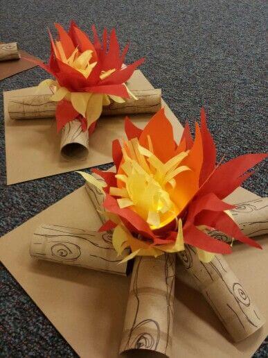 fogueira de decoração