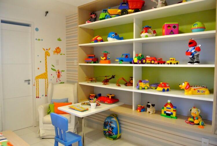 Como organizar brinquedos em prateleiras: 5 dicas úteis para por em prática