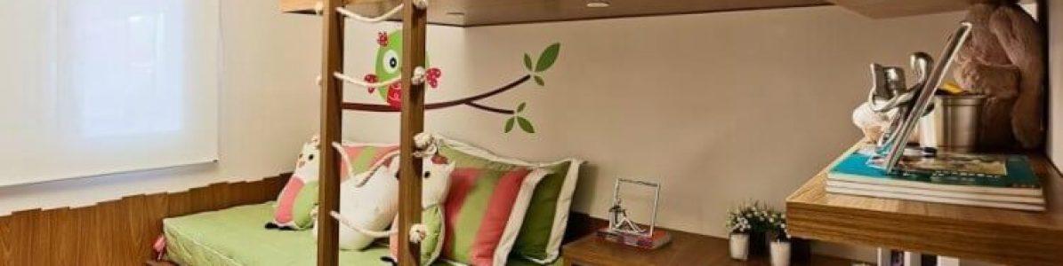Dicas de como arrumar um quarto pequeno para um casal de filhos!