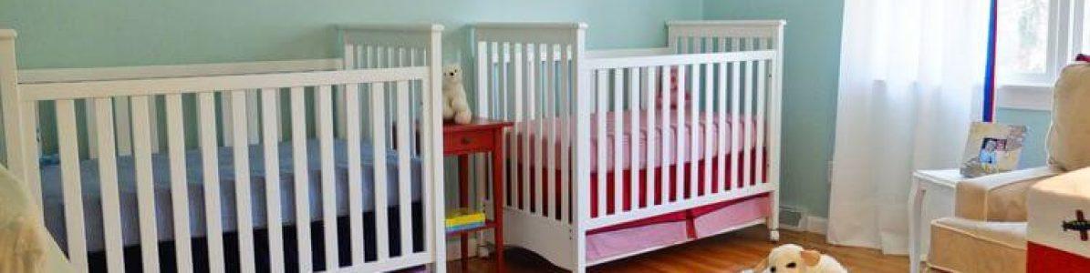 Quarto para bebês gêmeos: 5 dicas de decoração