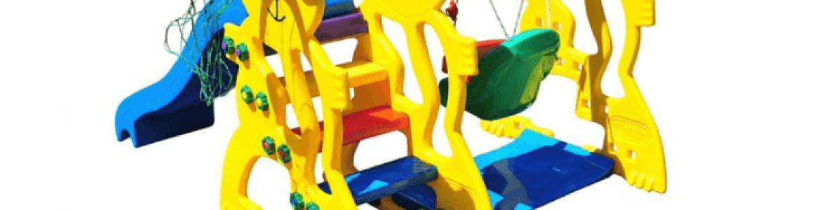Brinquedos de playground para bebê