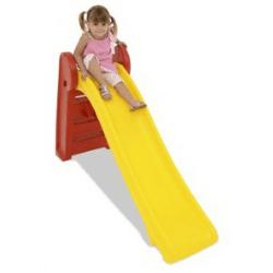 Escorregador de plástico para crianças