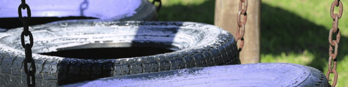 Playground com materiais recicláveis: como montar o seu