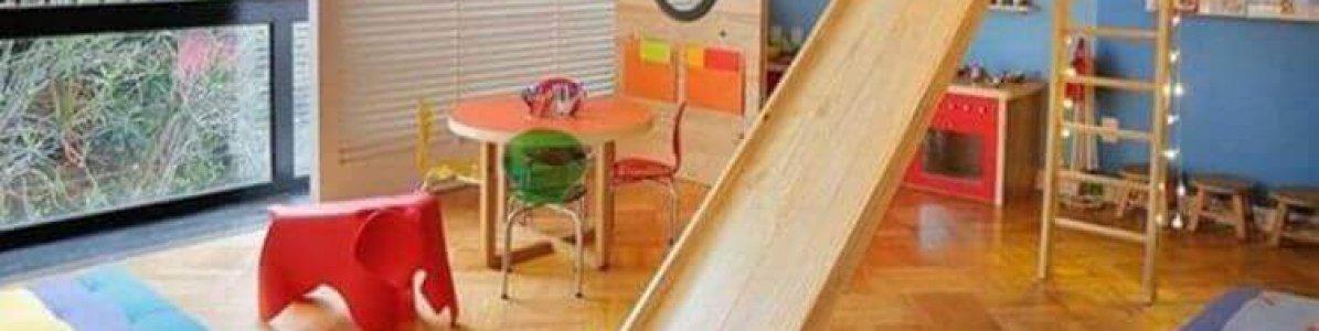 Como montar um playground dentro de casa