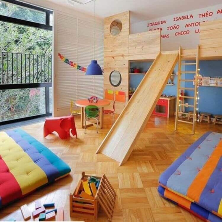 Playground infantil em casa