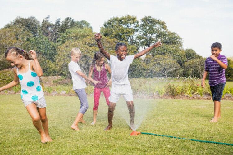 Verão com crianças