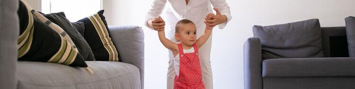 6 dicas para estimular o bebê a andar